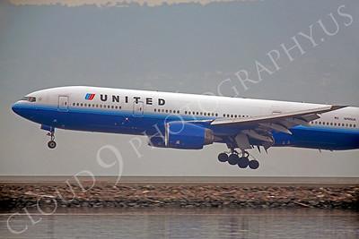 CUNALPJ 00018 Boeing 777 United N795UA by Peter J Mancus