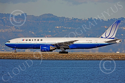 B777 00435 Boeing 777 United N220UA by Peter J Mancus