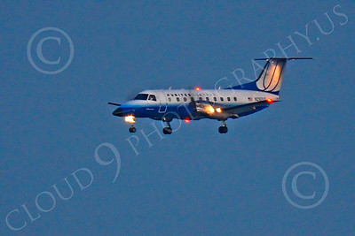 EMB-120 00012 EMBRAER EMB-120 Brasilla United Express N292UX by Peter J Mancus