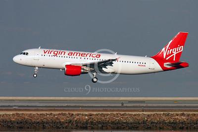 AIRBUS A320 00004 AIRBUS A320 VIRGIN AMERICA N624VA by Peter J Mancus