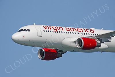 CUNALPJ 00002 Airbus A320 Virgin America N632VA by Peter J Mancus