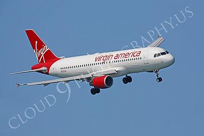 A320P 00006 Airbus A320 Virgin America N632VA by Peter J Mancus