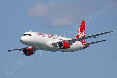 A320P 00060 Airbus A320 Virgin America N632VA by Peter J Mancus