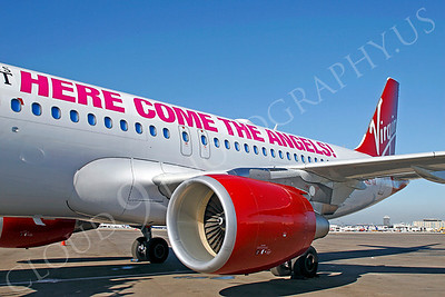 A320 00107 Airbus A320 Virgin America N627VA by Tim P Wagenknecht