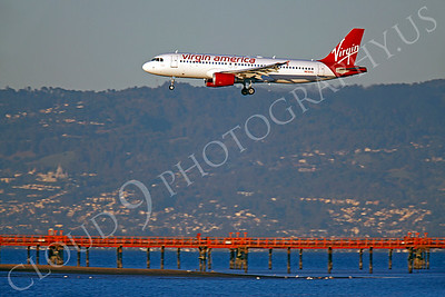 A320 00184 Airbus A320 Virgin America N630VA by Peter J Mancus