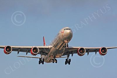 Airbus A340 00002 Virgin Atlantic by Carl E Porter