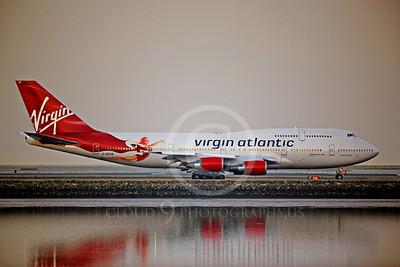 BOEING 747 00013C BOEING 747-400 VIRGIN AIRWAYS G-VFAB by Peter J Mancus