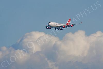 B747 00500 Boeing 747 Virgin Atlantic by Peter J Mancus