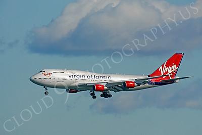 B747 00550 Boeing 747 Virgin Atlantic by Peter J Mancus