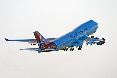 B747 01000 Boeing 747 Virgin Atlantic G-VROC by Peter J Mancus