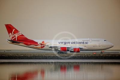 BOEING 747 00013B BOEING 747-400 VIRGIN AIRWAYS G-VFAB by Peter J Mancus