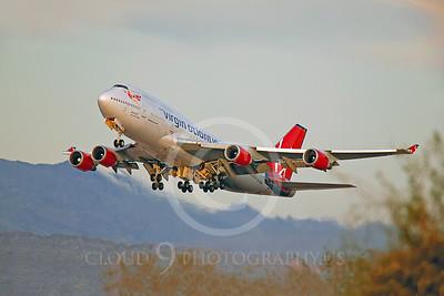 B747 00146 Boeing 747 Virgin Atlantic G-VGAL by Peter J Mancus