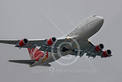 B747 00220 Boeing 747 Virgin Atlantic by Peter J Mancus