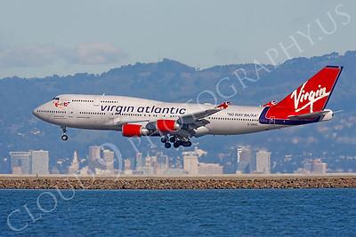 B747 00570 Boeing 747 Virgin Atlantic G-VROC by Peter J Mancus