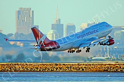 B747 00488 Boeing 747 Virgin Atlantic G-VROC by Peter J Mancus