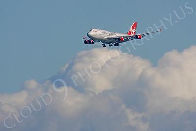 B747 00520 Boeing 747 Virgin Atlantic by Peter J Mancus