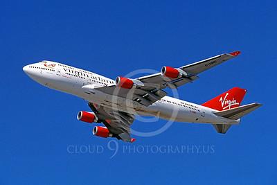 B747 00032 Boeing 747-400 Virgin Atlantic Airline G-VBIG by Peter J Mancus