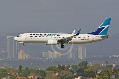 B737 00080 Boeing 737-800 WestJet C-GZWS by Peter J Mancus