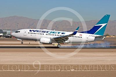 B737 00329 Boeing 737-700 West Jet C-FWSY by Dave Budd