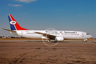 B737 00051 Boeing 737 Yemenia Airline 7O-ADL May 2004 via African Aviation Slide Service