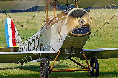WWI - Curtiss Jenny 00016 Curtiss Jenny US World War I biplane trainer warbird by Peter J Mancus