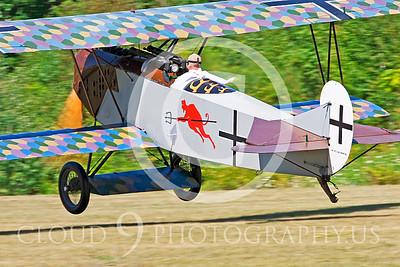 WWI-Fokker D-VII 00003 German Fokker D-VII by Peter J Mancus
