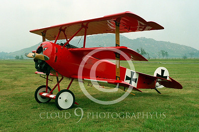 WWI-Fokker DR1 Tri-Plane 00001 German by Peter J Mancus