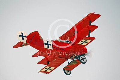 WWI-Fokker DR1 Tri-Plane 00004 German by Peter J Mancus