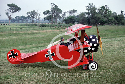 WWI-Fokker DR1 Tri-Plane 00005 German by Peter J Mancus