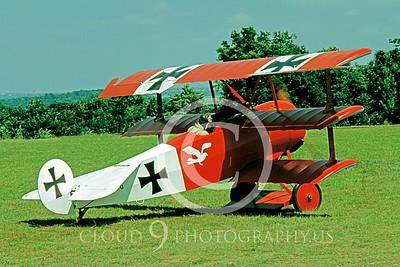 WWI-Fokker DR1 Tri-Plane 00003 German by S W D Wolf