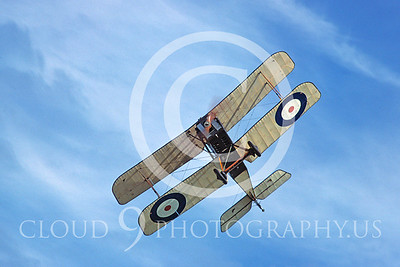 WWI-Royal Aircraft Factory SE5a 00004 British Royal Flying Corps by S W D Wolf
