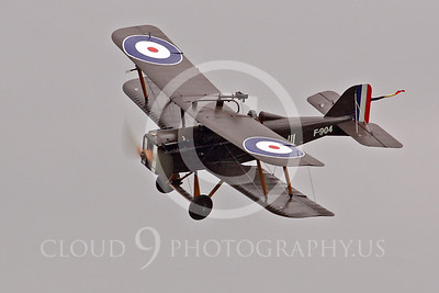 WWI-Royal Aircraft Factory SE5a 00006 British Royal Flying Corps by Tony Fairey