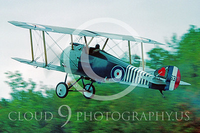 WWI-Sopwith Camel 00004 British Royal Flying Corps Sopwith Camel by Warren D Shipp