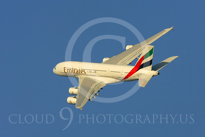 A380 00012 Airbus A380 Emirates by Paul Ridgway