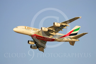A380 00020 Airbus A380 Emirates by Paul Ridgway