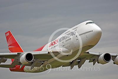 B747P 00008 Boeing 747 Oasis Hong Kong by Peter J Mancus