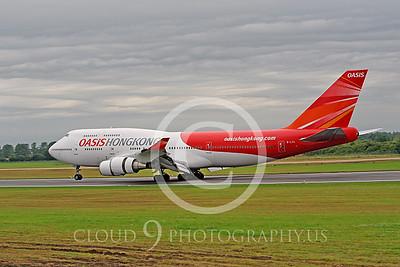 B747P 00003 Boeing 747 Oasis Hong Kong B-LFC by Peter J Mancus