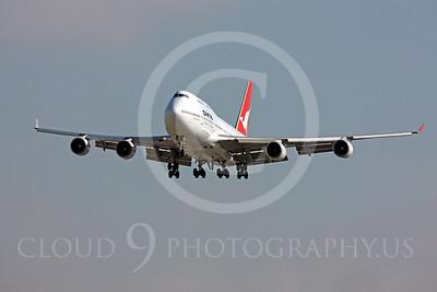B747-ALP 00002 Boeing 747 Qantas by Peter J Mancus