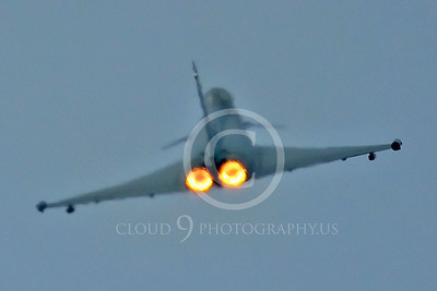 AB - Typ 00042 Eurofiighter Typhoon Italian Air Force afterburner aircraft picture by Stephen W D Wolf