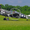 WB-Curtiss P-40 Warhawk 00161 A Curtiss P-40 Warhawk USA WWII era fighter holds for take-off warbird picture by Stephen W  D  Wolf
