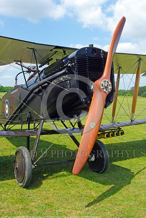 WWI-Bristol F2B Fighter 00007 A static Bristol F2B Fighter British RAF WWI era biplane fighter warbird picture by Stephen W D Wolf