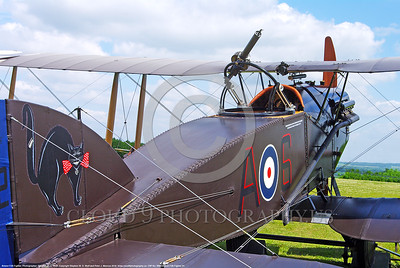 WW1-Bristol F2B Fighter 00001 A static WWI Bristol F2B British RAF fighter warbird picture by Stephen W  D  Wolf