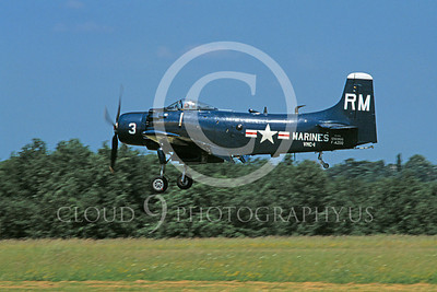 Copy of WB - Douglas A-1 Skyraider 00066 Douglas A-1 Skyraider US Marine Corps VMC-1 warbird markings by Stephen W D Wolf