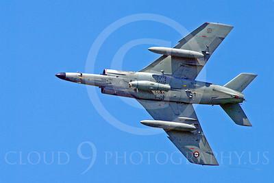 Dassault Super Etendard 00010 Dassault Super Entendard French Navy military airplane picture by Stephen W D Wolf