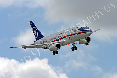 ALPJP-SSJ100 00016 Sukhoi Super Jet 100 97003 airplane picture by Stephen W D Wolf