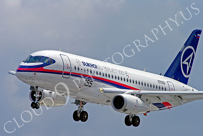 ALPJP-SSJ100 00014 Sukhoi Super Jet 100 97003 airplane picture by Stephen W D Wolf
