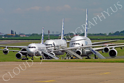 ALJM 00002 Airbus A320, A340 and A380 prototypes aircraft picture by Stephen W D Wolf