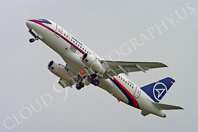ALPJP-SSJ100 00004 Sukhoi Super Jet 100 97003 airplane picture by Stephen W D Wolf