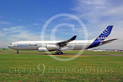 ALPJP-A340 00001 Airbus A340--300 F-WWAI by Stephen W D Wolf