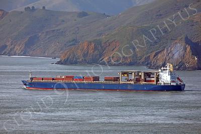 CCS 00007 Civilian cargo ship leaves San Francisco Bay by Peter J Mancus
